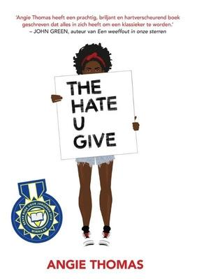 Cover van boek The hate u give